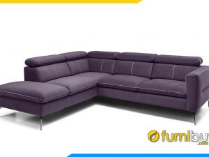 Mẫu sofa nỉ dạng góc lớn FB20070