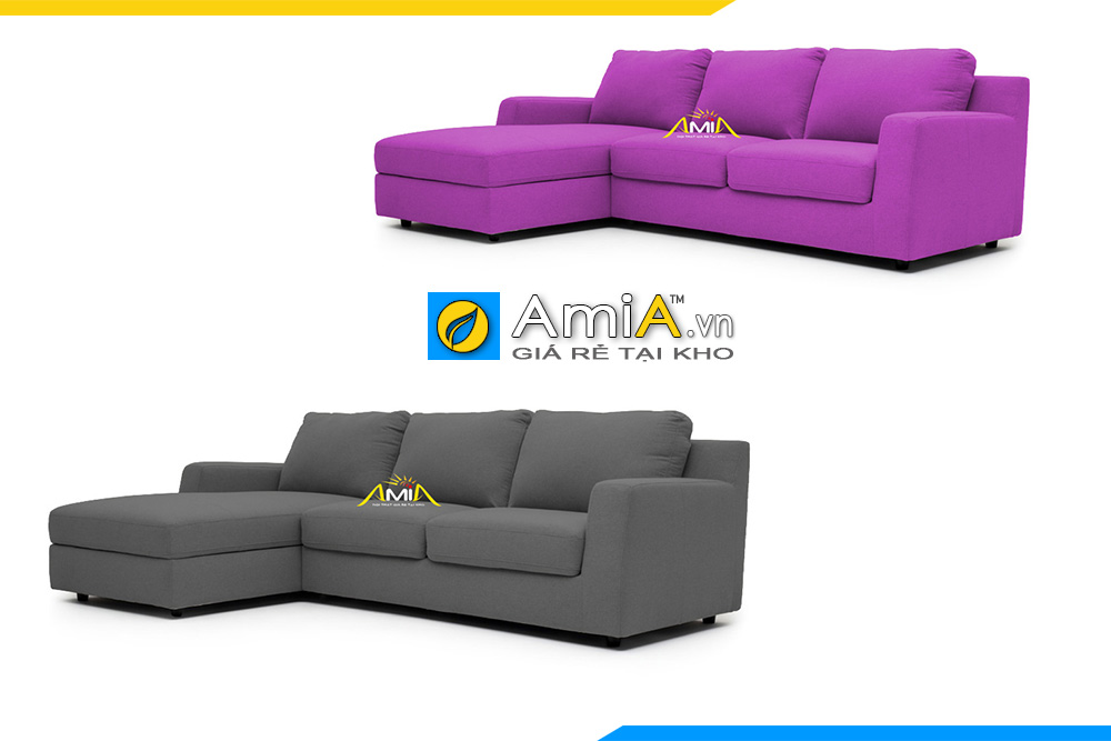 Mẫu ghế sofa góc vải nỉ đẹp dành cho không gian phòng khách nhà bạn