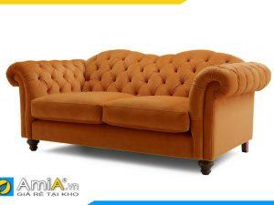 hình ảnh sofa văng nỉ tân cổ điển đẹp